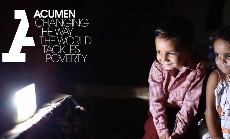 Una nueva manera de combatir la pobreza