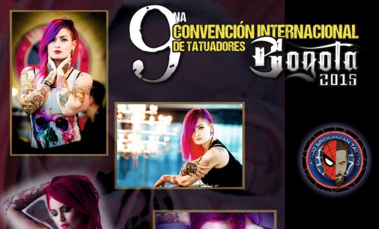 Unos 200 tatuadores internacionales se darán cita en convención en Bogotá