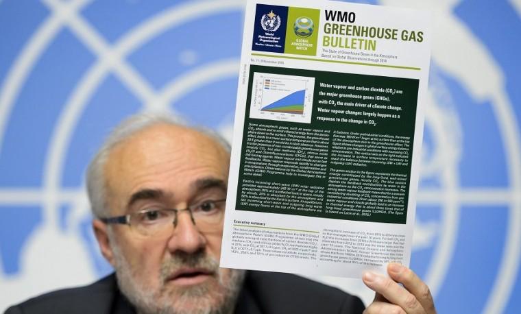 Nuevo record en el 2014 de concentración de gases de efecto invernadero