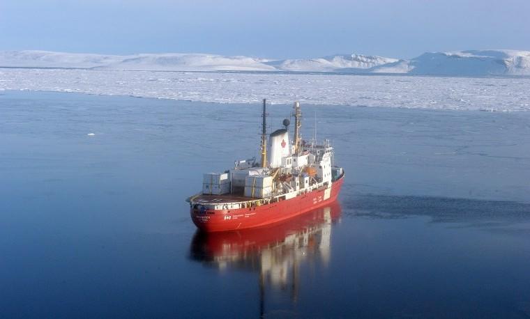 Los científicos, testigos de excepción del calentamiento en el Ártico