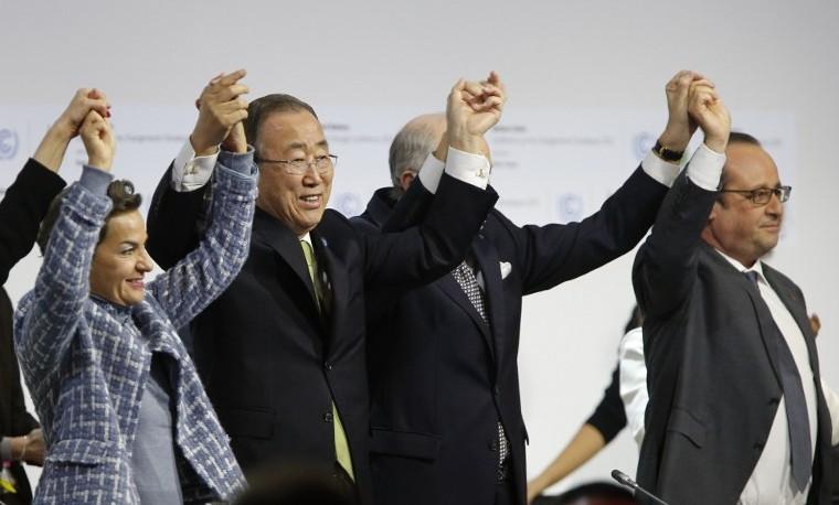 Histórico acuerdo contra el cambio climático une a 195 países en París