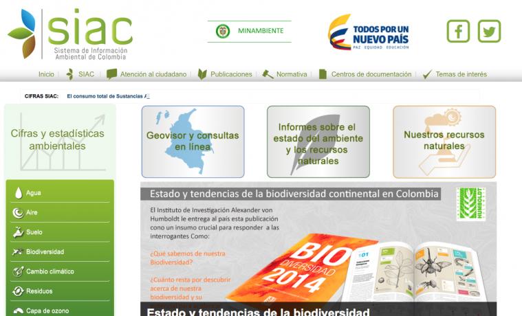 Colombia lanza nuevo sistema de información ambiental