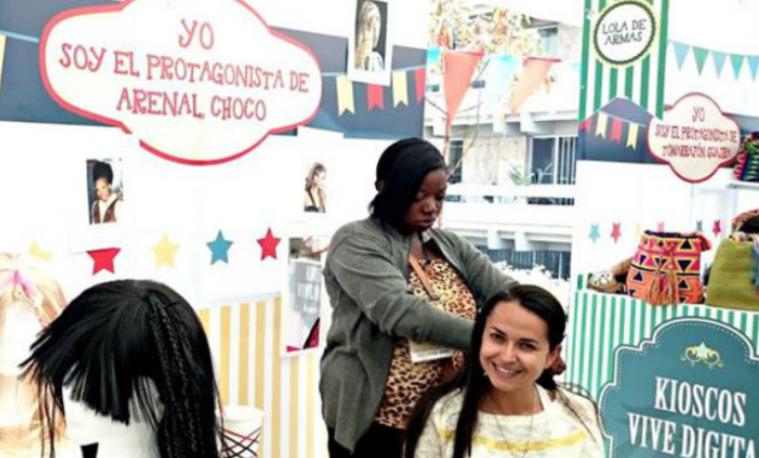 Así se construye la esperanza, en un Kiosco Vive Digital de El Arenal, Chocó