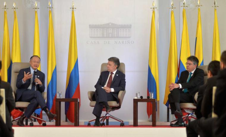 Colombia es uno de los puntos brillantes de la economía de Latinoamérica y el mundo: Presidente del Banco Mundial