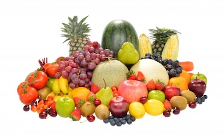 Frutas y verduras. Imagen cortesía de amenic181 en FreeDigitalPhotos.net