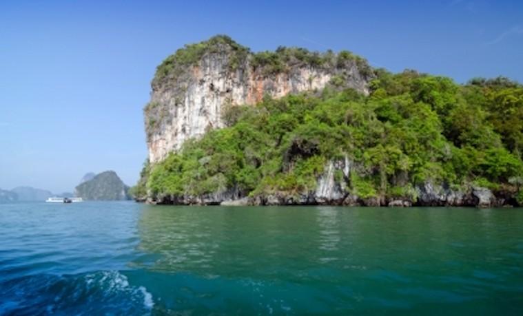 Parque Nacional, en Phang Nga Bay, Tailandia. Por: Sira Anamwong - en  FreeDigitalPhotos.net