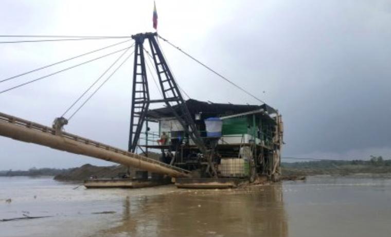 El monstruo de la minería ilegal