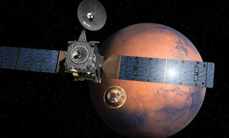 Marte cambió de rostro en su infancia a causa de un gigantesco volcán
