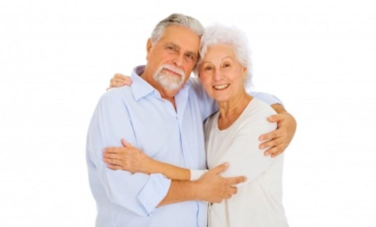 pareja adulta envejecimiento old couple
