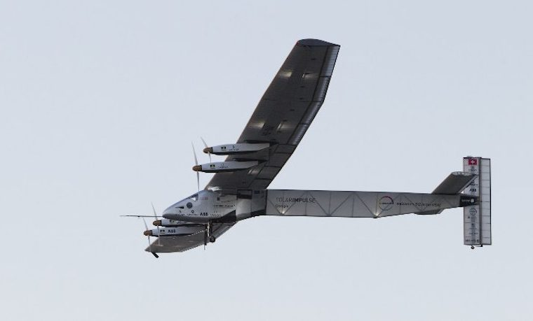 Solar Impulse 2 aviones