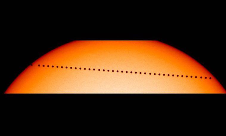 Los terrícolas podrán ver a Mercurio pasar por delante del Sol