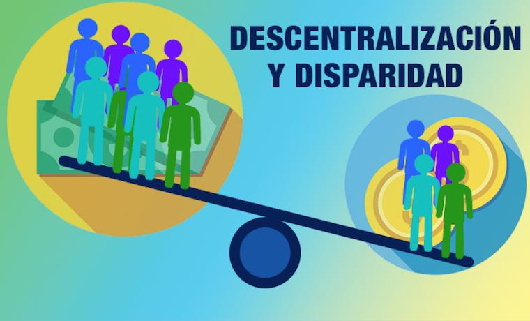 ¿Puede la descentralización reducir las disparidades regionales?