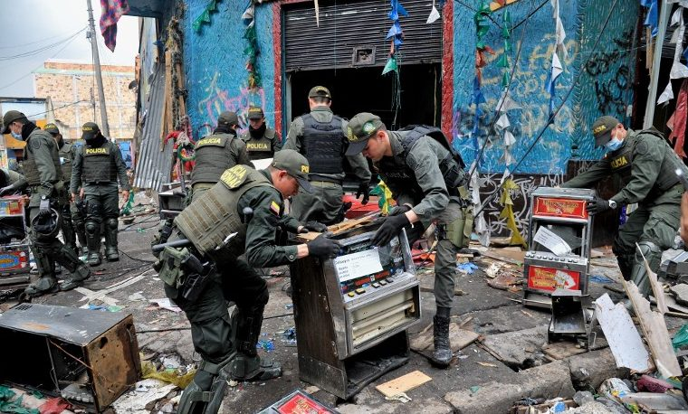 Bronx, Bogotá. Mayo 31, 2016. AFP PHOTO / GUILLERMO LEGARIA