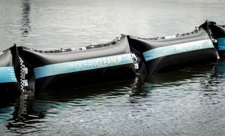 The Ocean Cleanup: para limpiar los océanos