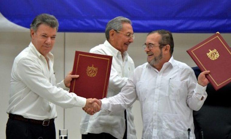 Santos: Hoy es un día histórico para Colombia