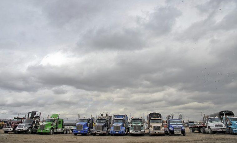 Unos 34.000 vehículos de carga han viajado escoltados en Colombia por paro