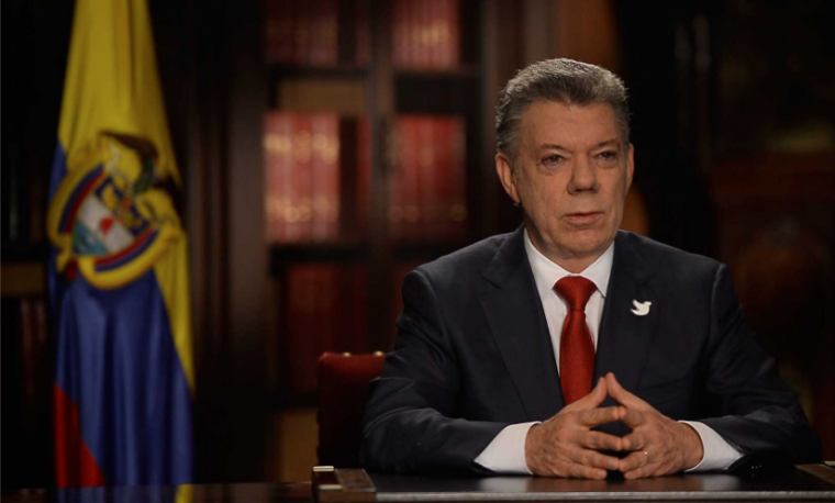 plebiscito Juan Manuel Santos