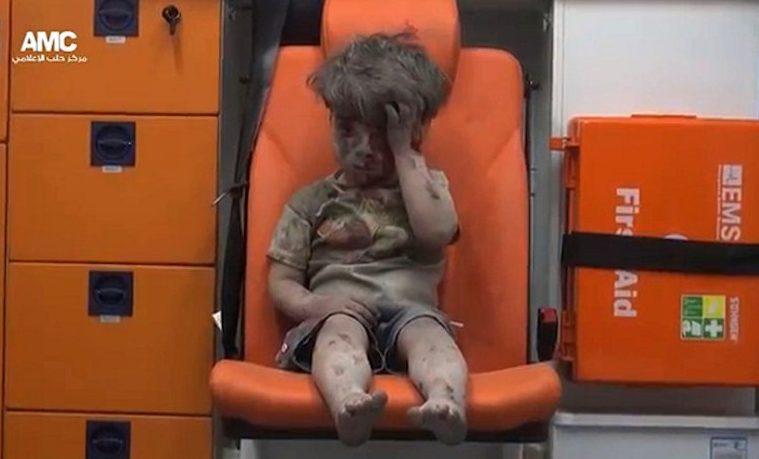 Omran: El niño sirio de la foto que dio la vuelta al mundo