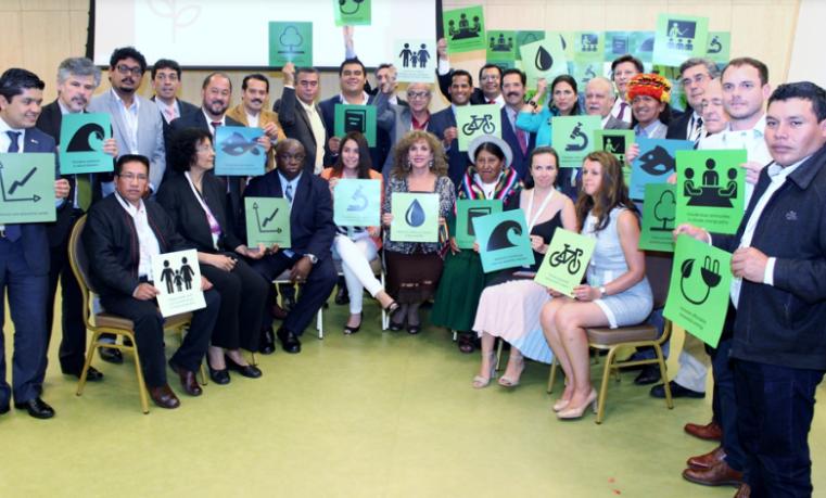 Parlamentarios latinoamericanos acuerdan colaborar contra cambio climático