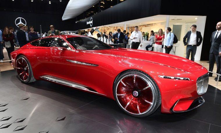 Los automóviles eléctricos en el Salón de París