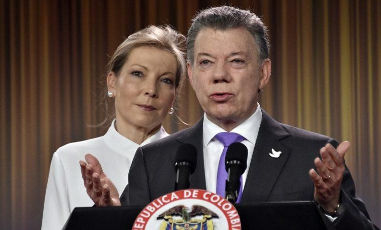 Nobel de la Paz para el presidente colombiano por sus esfuerzos de pacificación