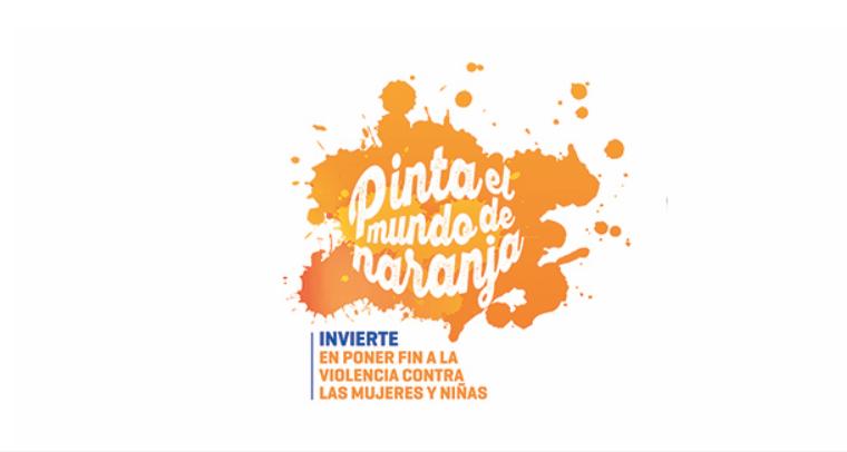 Pinta el mundo de naranja: 16 días de activismo