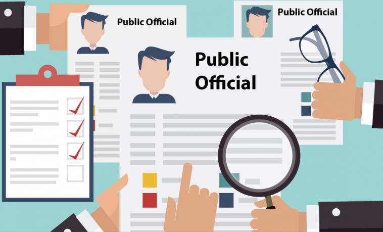 Divulgación pública de las declaraciones de patrimonio e intereses