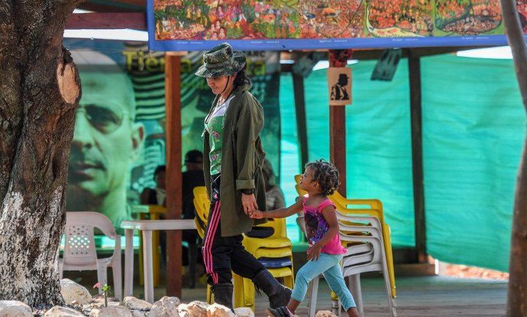 FARC desmovilización