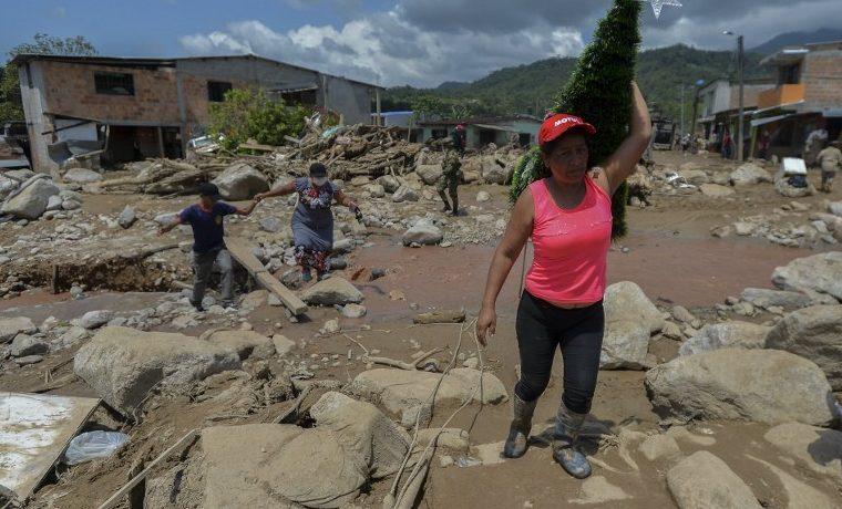 Temporada invernal en Colombia deja 360 muertos