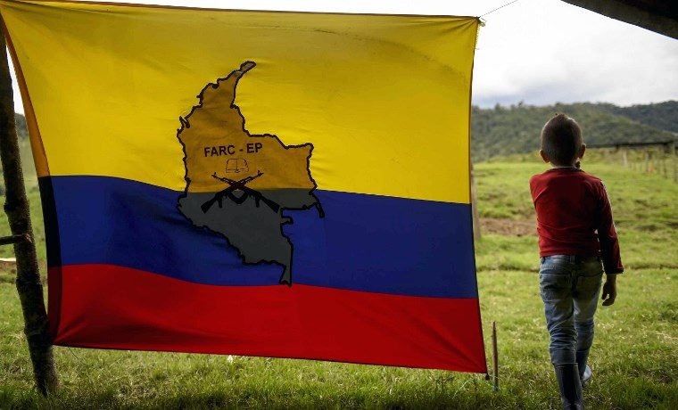Colombia FARC James Robinson