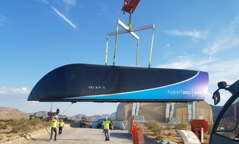 Nuevo ensayo exitoso del Hyperloop, que inicia etapa de comercialización