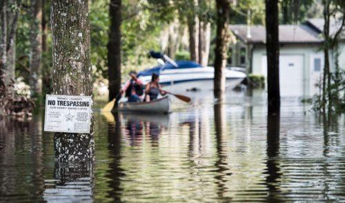 El cambio climático aumenta intensidad de tormentas