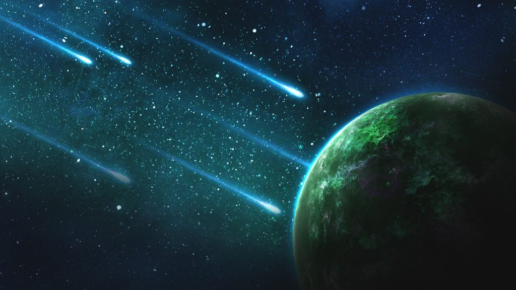 La Tierra asteroides