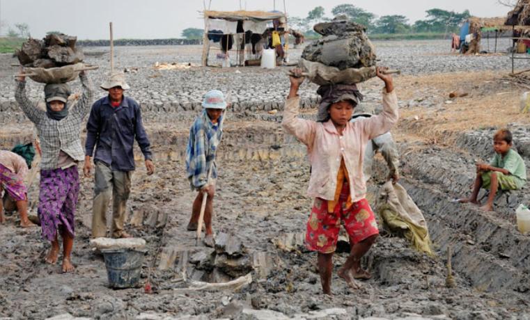Esclavitud y trabajo infantil