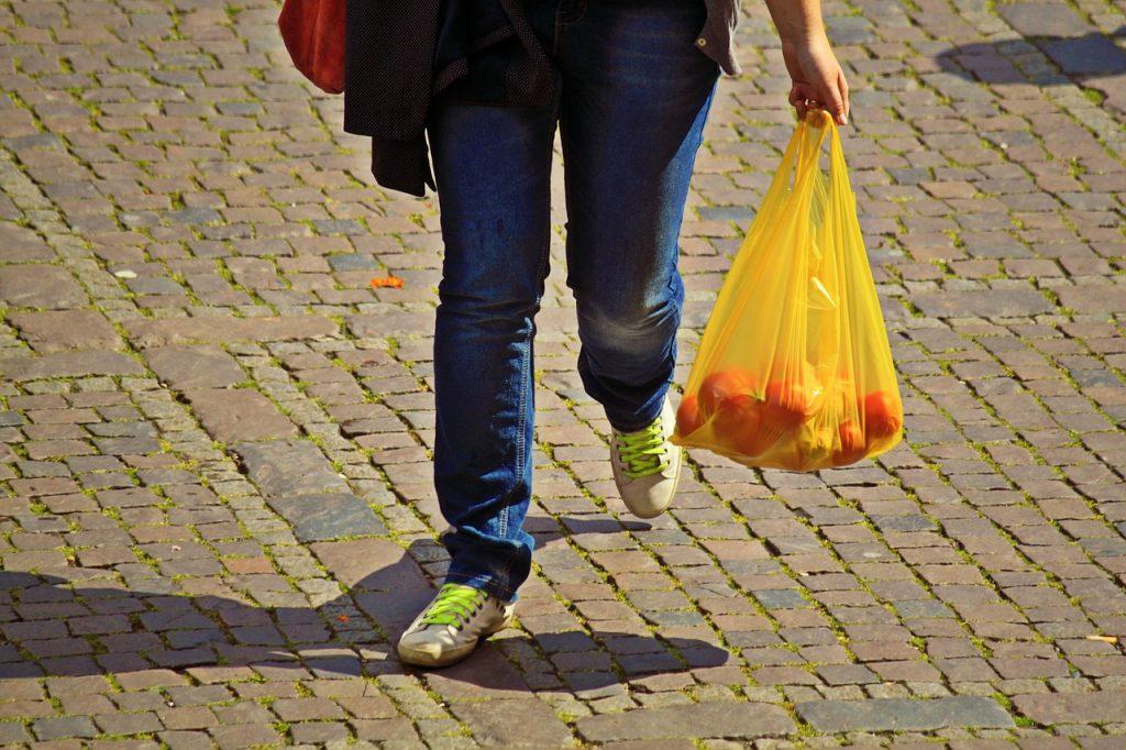 bolsas plásticas plástico
