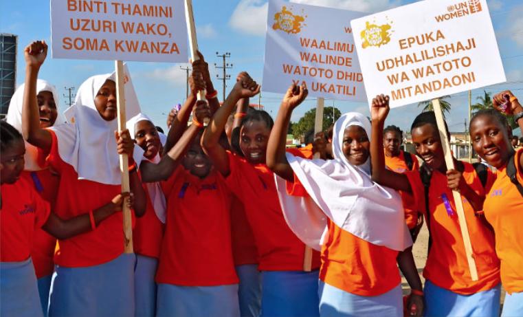 Que nadie se quede atrás: Pongamos fin a la violencia contra las mujeres y niñas