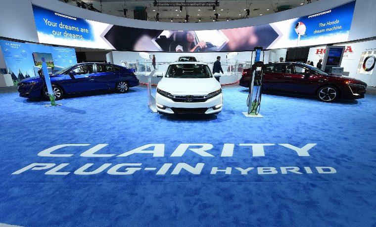 Honda Clarity, auto ecológico del año en salón del automóvil de Los Ángeles