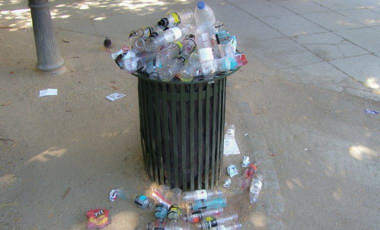 desechos plásticos basura plástico