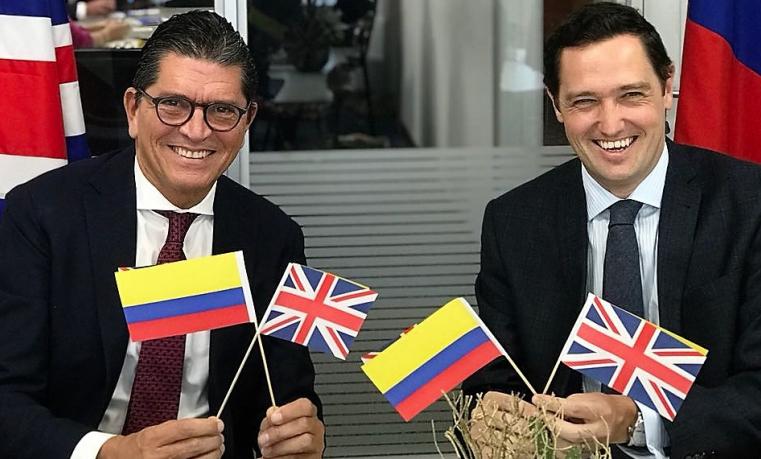 Reino Unido y Promigas firman acuerdo de investigación