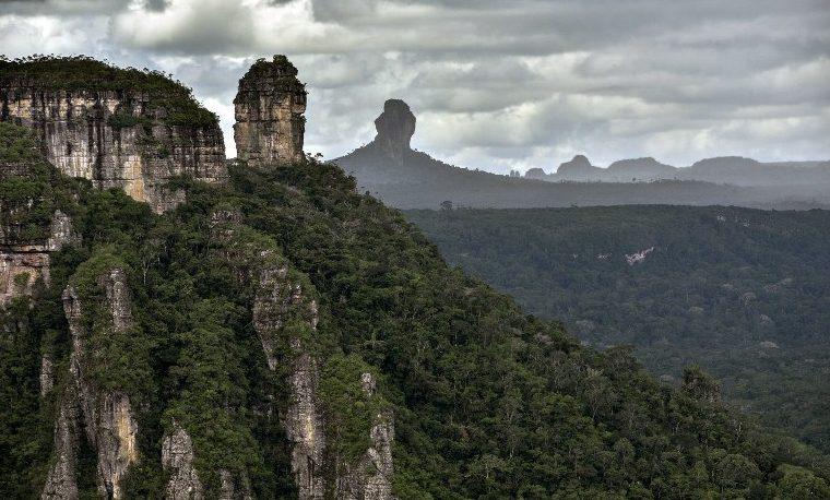 Parque Nacional de Chiribiquete de Colombia, declarado Patrimonio de la Humanidad
