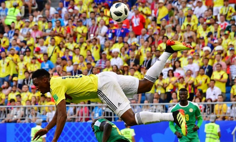 Yerry Mina Colombia fútbol
