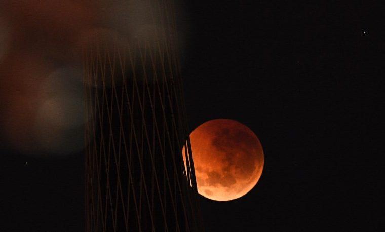 Eclipse lunar, un espectáculo celeste