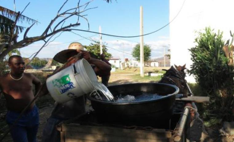 Cuba agua Oxfam