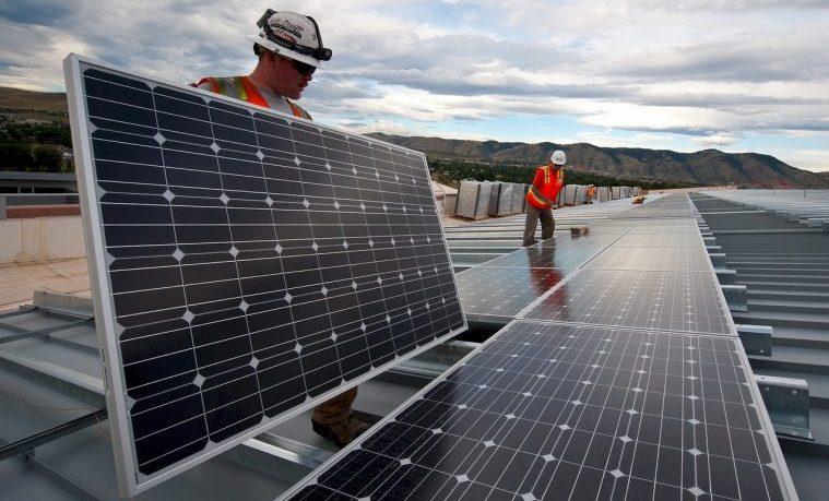 energía solar sol