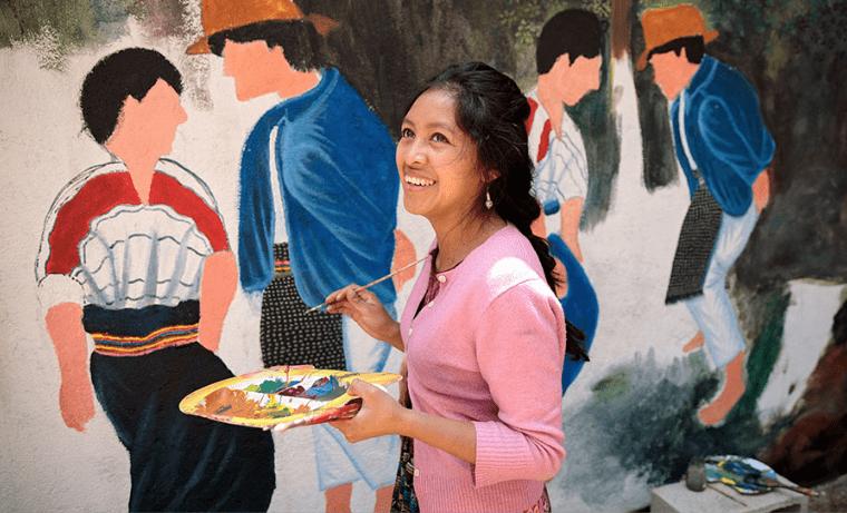 Las mujeres indígenas se movilizan por sus derechos