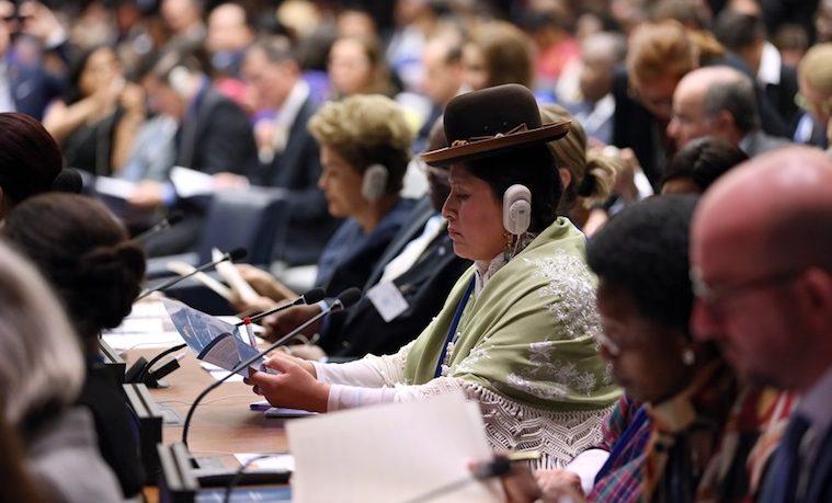 Igualdad de género en la Asamblea General de las Naciones Unidas