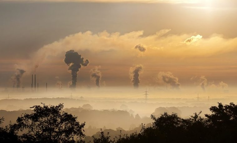 contaminación global warming carbono cambio climático CO2