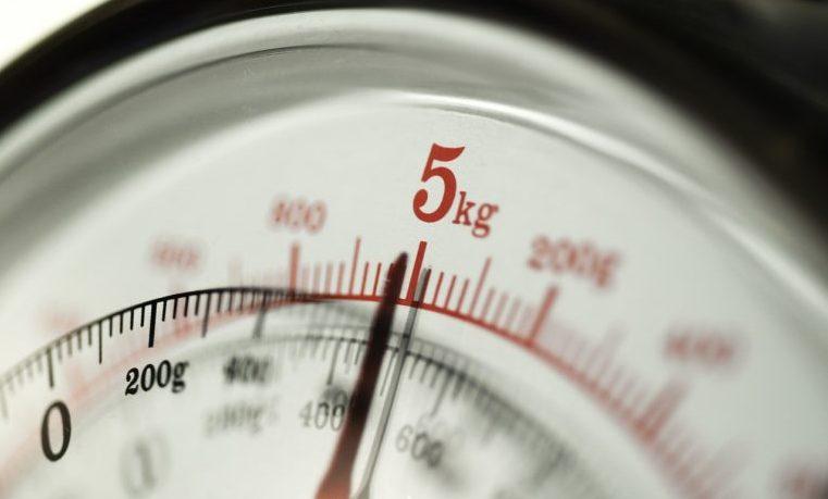 medida pesa escala