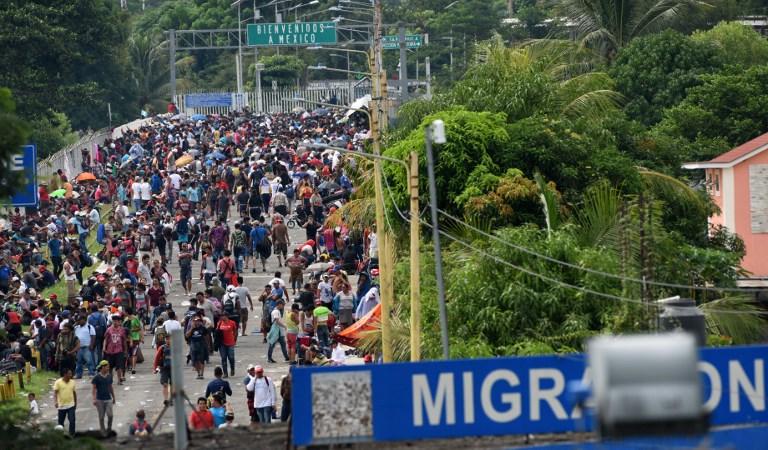 7 preguntas clave sobre la caravana de migrantes de Centroamérica y la respuesta de Oxfam