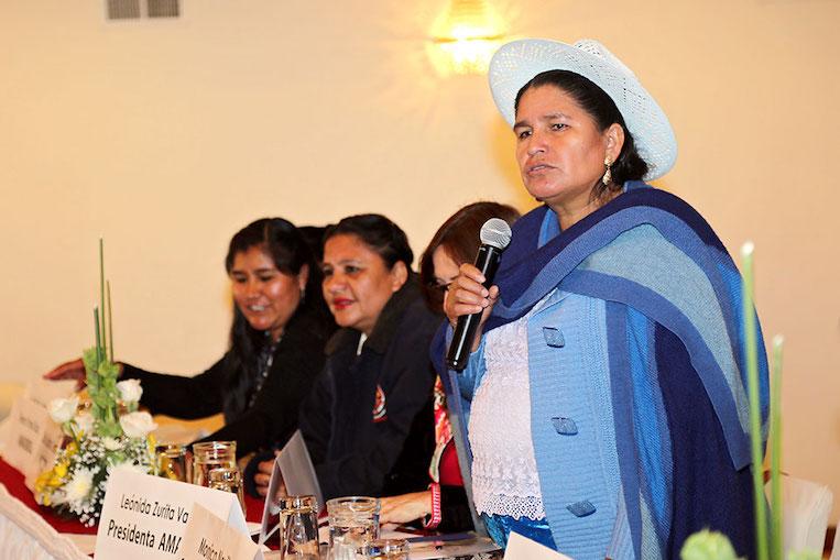 En toda América Latina, las mujeres luchan contra la violencia en la política